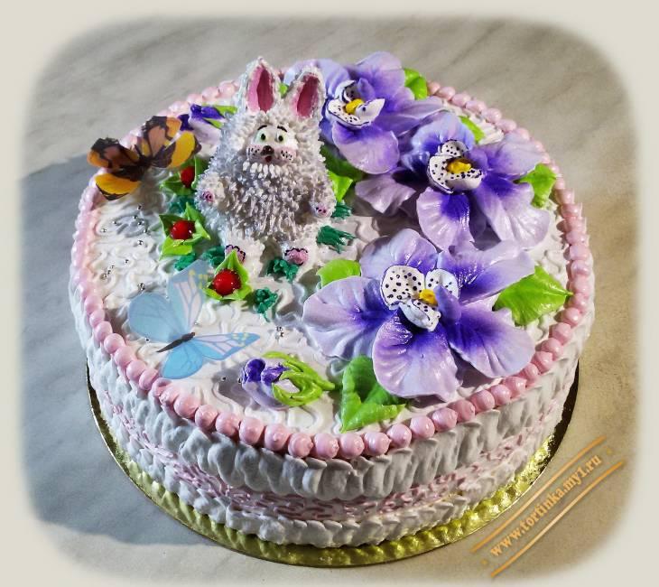 Торт с белковым кремом картинки